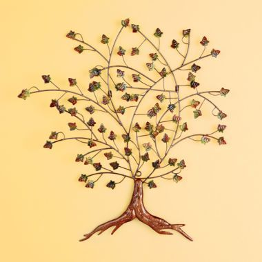 Metal tree art ~ I gotta get busy! | Metal Tree Artwork | Pinterest ...