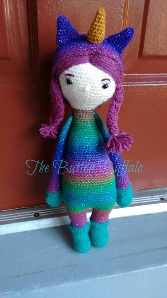 unicorn mod made by Darrah / based on a lalylala crochet pattern ...
