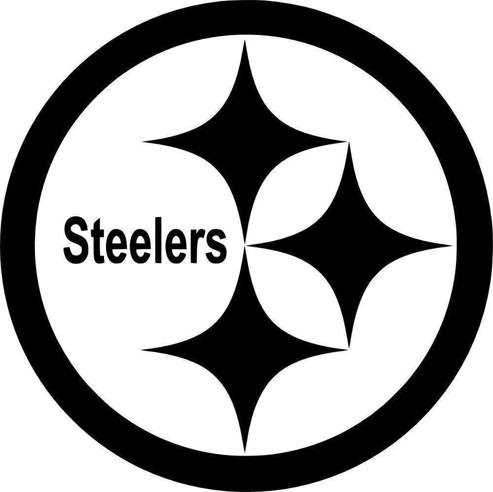 image about Printable Steelers Logo named Data with regards to Pittsburgh Steelers Brand Vinyl Decal 100
