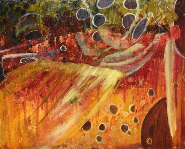 Brown Trout Abstract Art