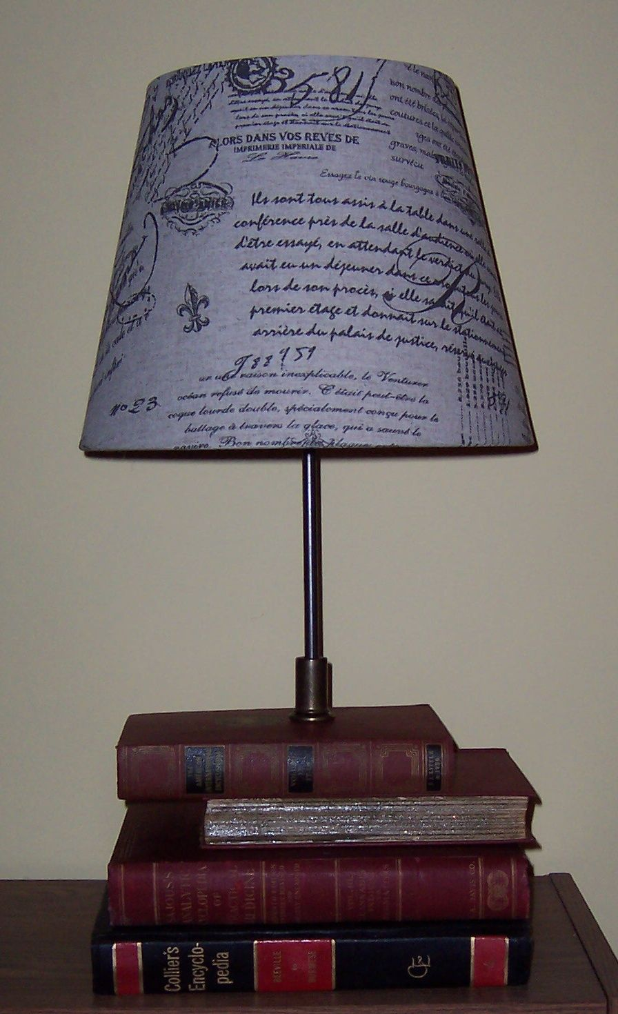 Lamp I made from old books | Creative / Handmade Stuff ...