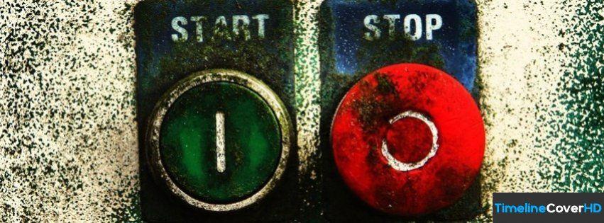 Vintage Start Stop Facebook Cover Timeline Banner For Fb Facebook Cover