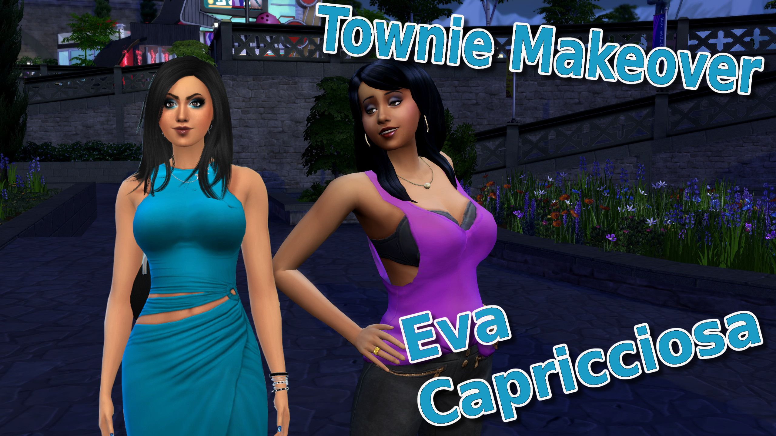 A new #TownieMakeover from #Windenburg is online  #TheSims4