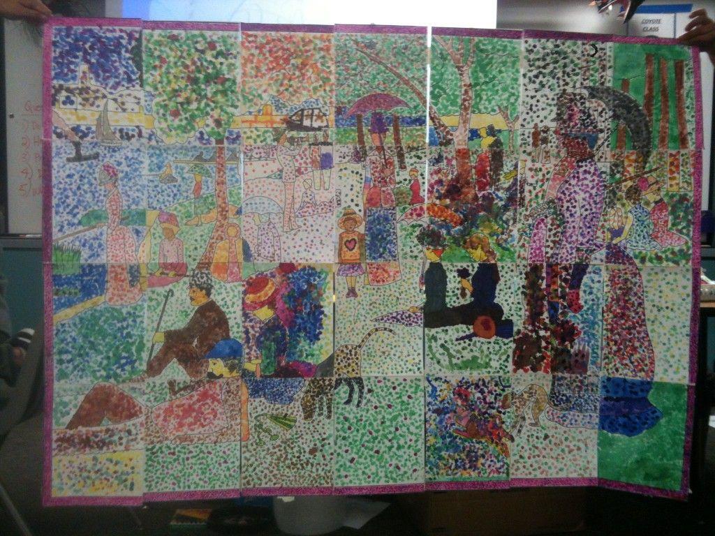 Pointilism Art For 28 Kids 5