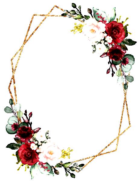Romantic Watercolor Burgundy Floral Geometric Invitation Zazzle Com Convite De Casamento Virtual Convite De Casamento Cartao De Visita Manicure