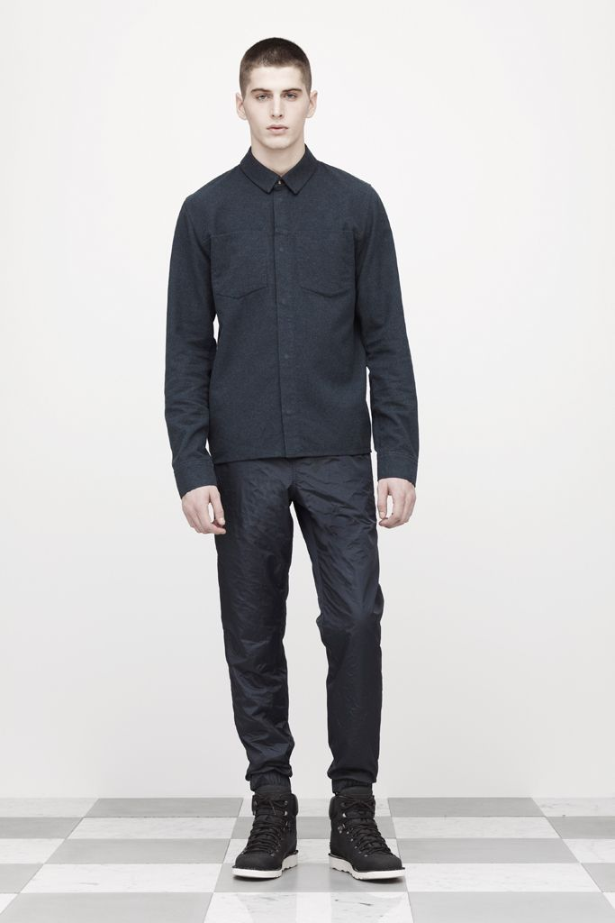 T by Alexander Wang Fall 2012 Menswear Collection Slideshow on Style.com