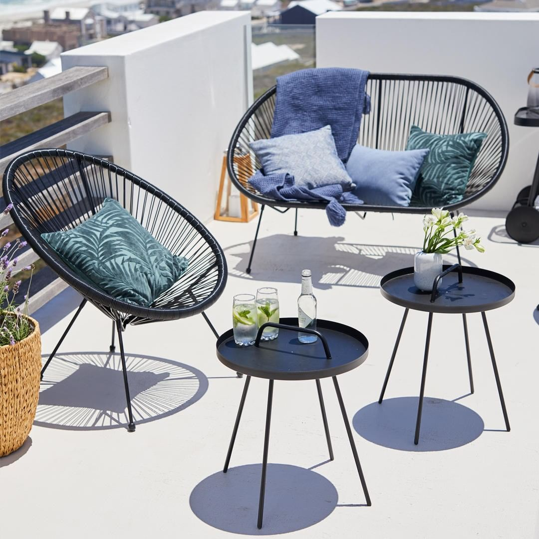 Jysk Uk On Instagram Now We Know You Love The Ubberup Lounge Chairs But How About T Diseno De Interior Para Apartamento Muebles Para Balcon Diseno De Terraza
