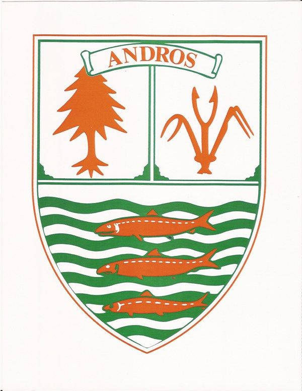 Andros, Bahamas - Island Shield_Crest | Coat of arms ...
