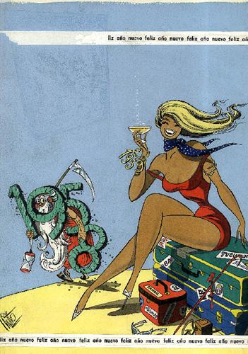 Tapa de la revista Rico Tipo por Guillermo Antonio Divito
