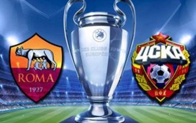ROMA-CSKA MOSCA IN DIRETTA STREAMING GRATIS #roma #cskamosca #streaming