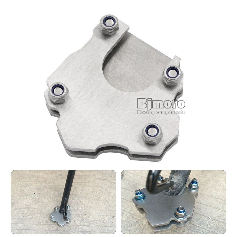 Motorcycle Side Kickstand Stand Enlarger Foot Pad Extension Plate //.amazon  sc 1 st  Pinterest & Motorcycle Side Kickstand Stand Enlarger Foot Pad Extension Plate ...