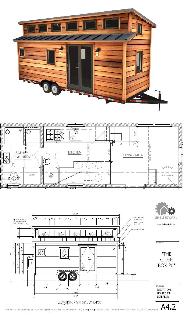 Cider Box Tiny House Plans