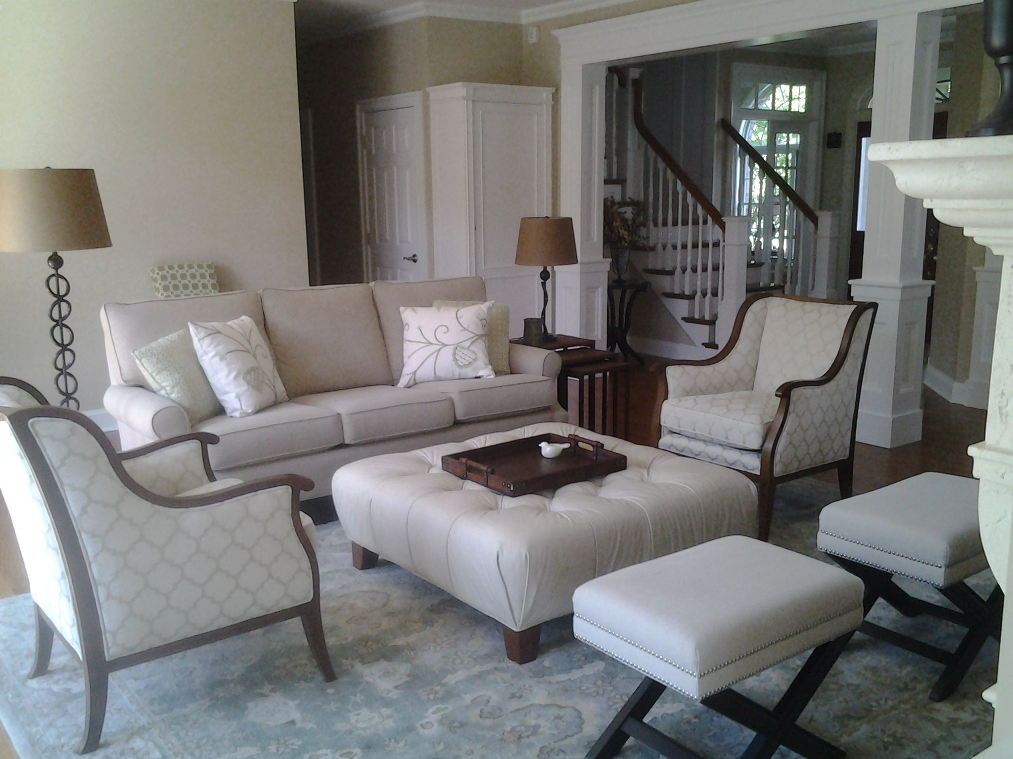 A view from a Classic Furniture customer's home. How can our designers improve your home?