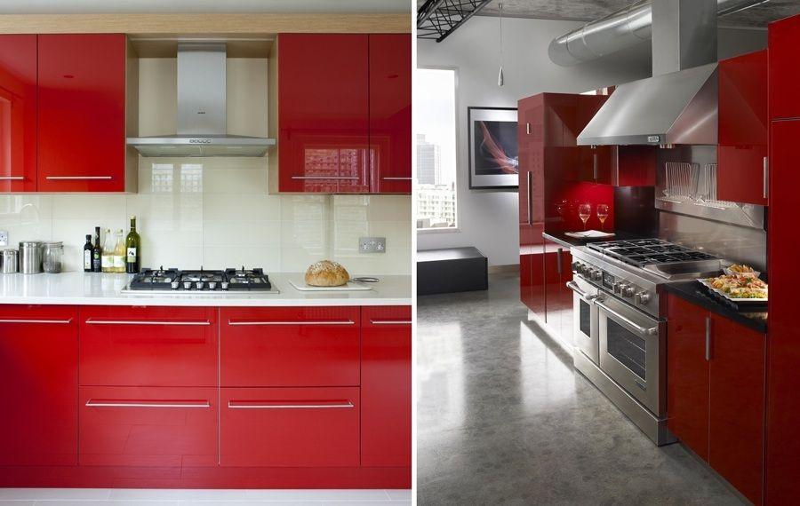 Cocina roja -Ideas para decorar tu hogar en Habitissimo   ROJO ...