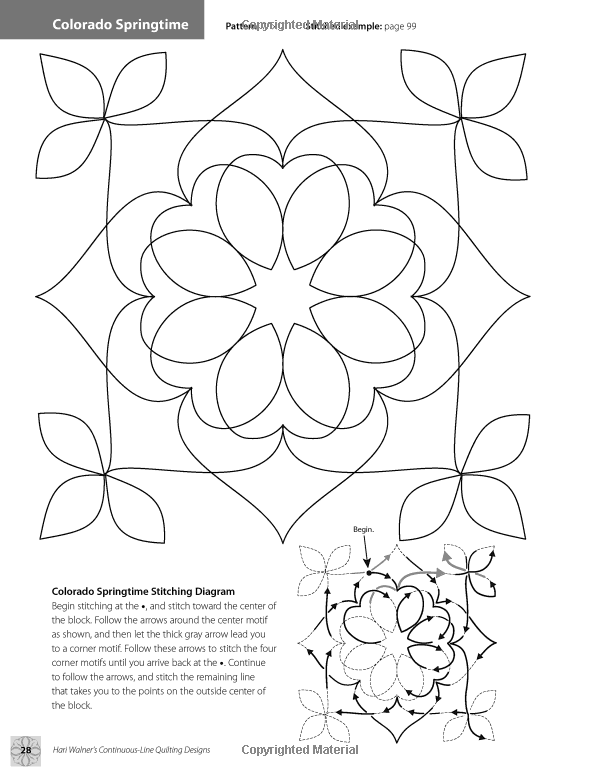 Hari Walner\'s Continuous-Line Quilting Designs: 80 Patterns for ...