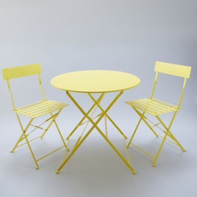 Fantastic Painted Metal Bistro Table Beachy Keen Metal Bistro Short Links Chair Design For Home Short Linksinfo