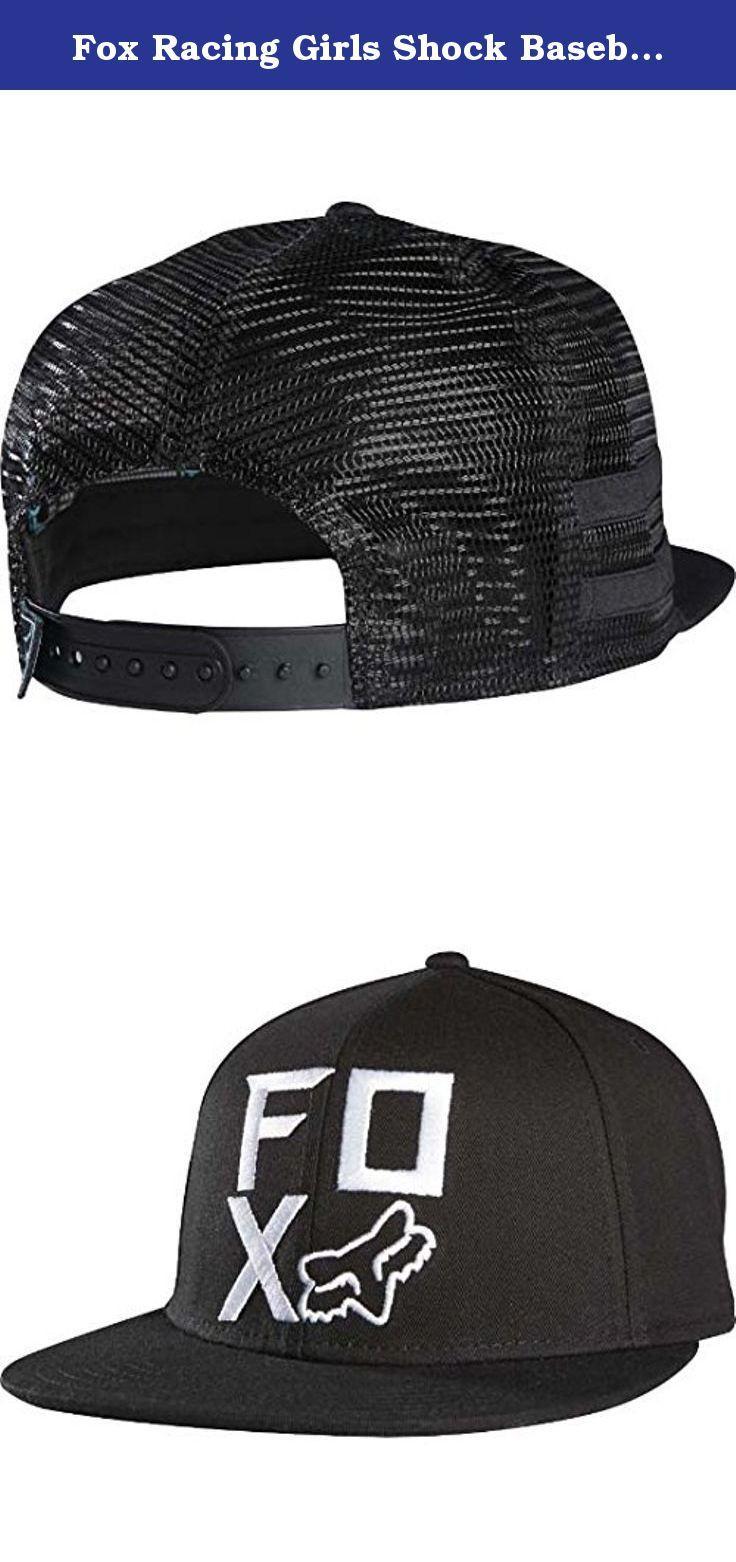 Fox Racing Girls Shock Baseball Adjustable Hat/Cap, Black