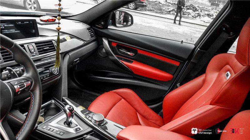 VST Carbon Fiber Interior Trim Kit For BMW Series BMW - Bmw 3 series interior