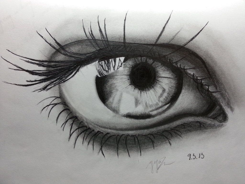 pencil drawings | Pencil Drawing ~ Eye by ozastark on deviantART