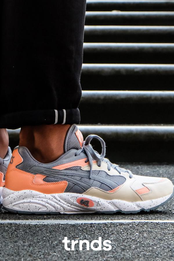 Asics Gel Diablo Stone Grey For Men Sneakers Men Sneaker Head Sneaker Collection