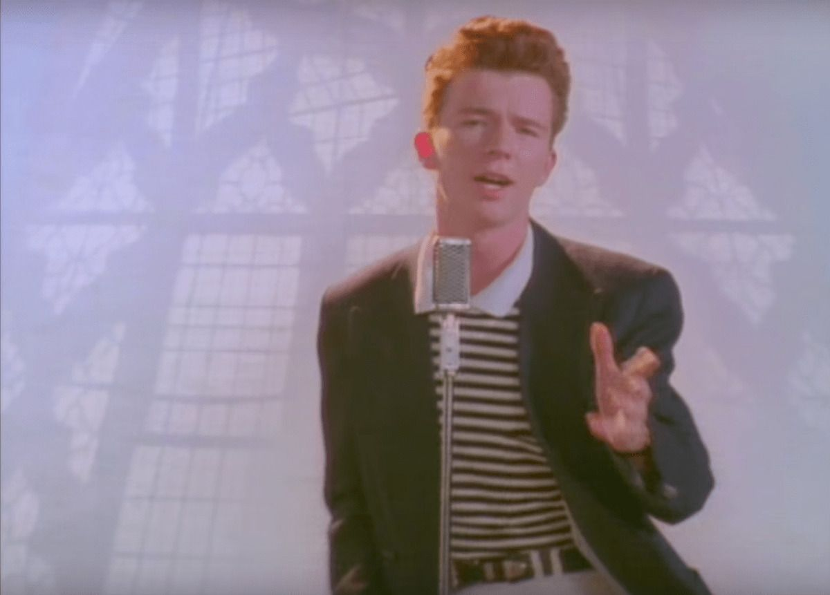 Watch A œnever Gonna Give You Upa Singer Rick Astley Cover David Guetta And Siaa S A œtitaniuma A E Rick Astley Rick Astley Never Gonna Rick Astley Meme