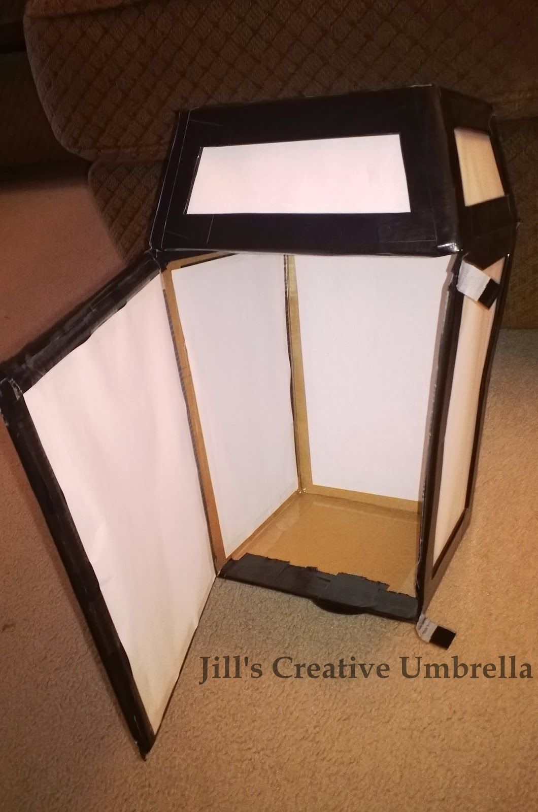 Photo of Jill's Creative Umbrella: For the Stage – DIY LAMP POST
