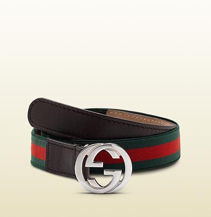 d0cfc399f kid's web belt with interlocking G buckle | Baby boys | Gucci kids ...