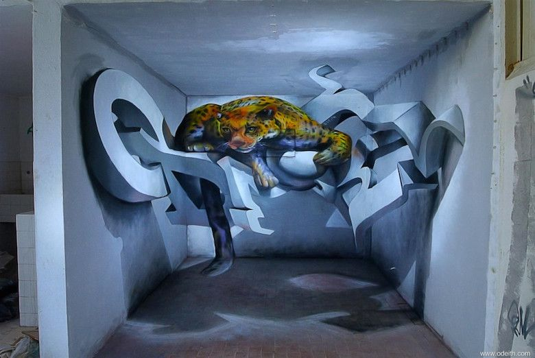 Amazing D Graffiti Artworks That Look Like Theyre Floating In - 17 amazing works of 3d street art