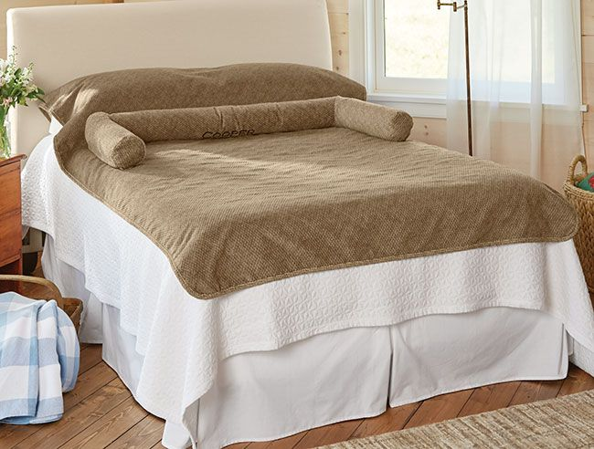 Bolstered Bed Protector Bed Protector Bed Covered Dog Bed