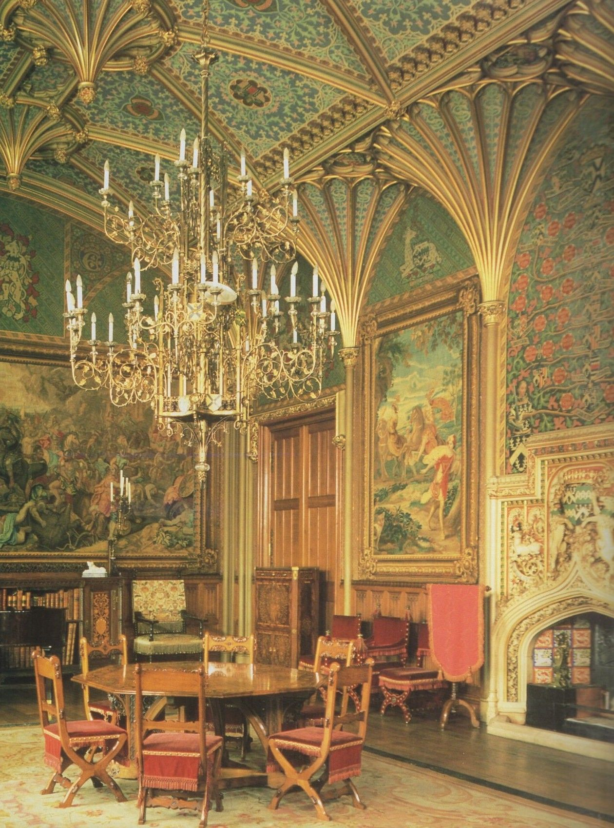Castle Drawing Room: One Of My Very Favorite High Gothic Rooms (Drawing Room