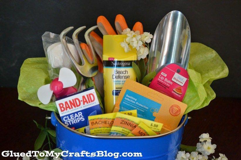 Celebrate The Gardener In Your Life Garden Gift Basket Idea