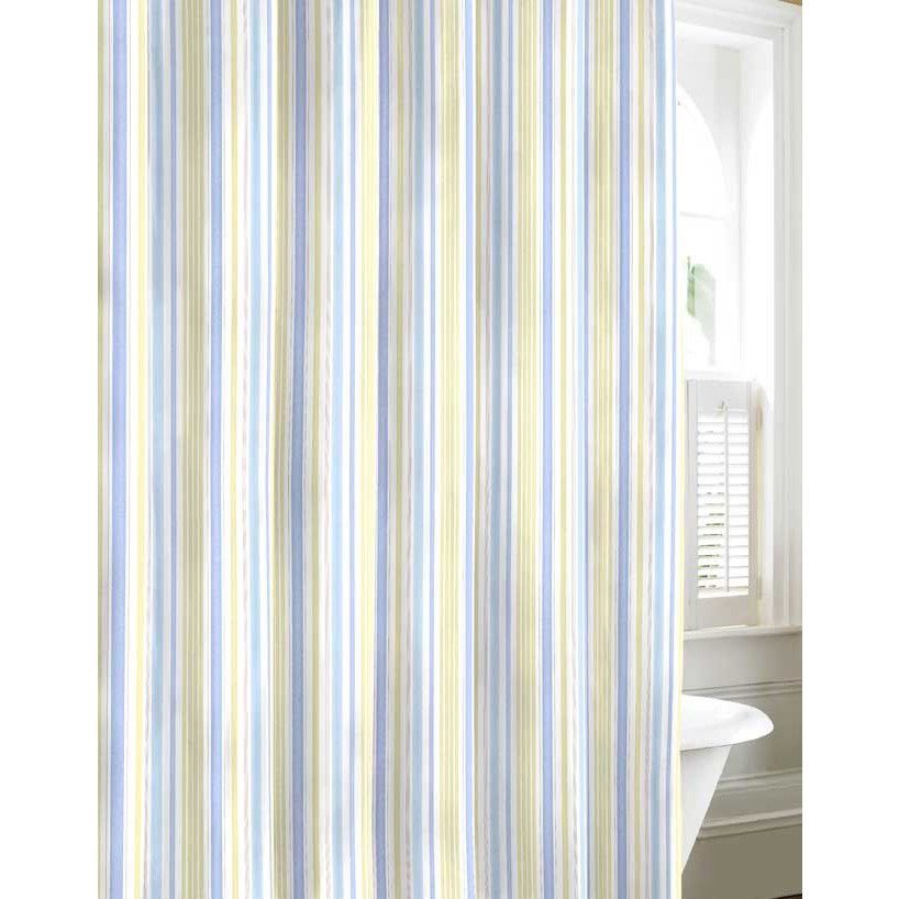 This Laura Ashley Cotton Shower Curtain Is A Great Way To Add An Instant Update