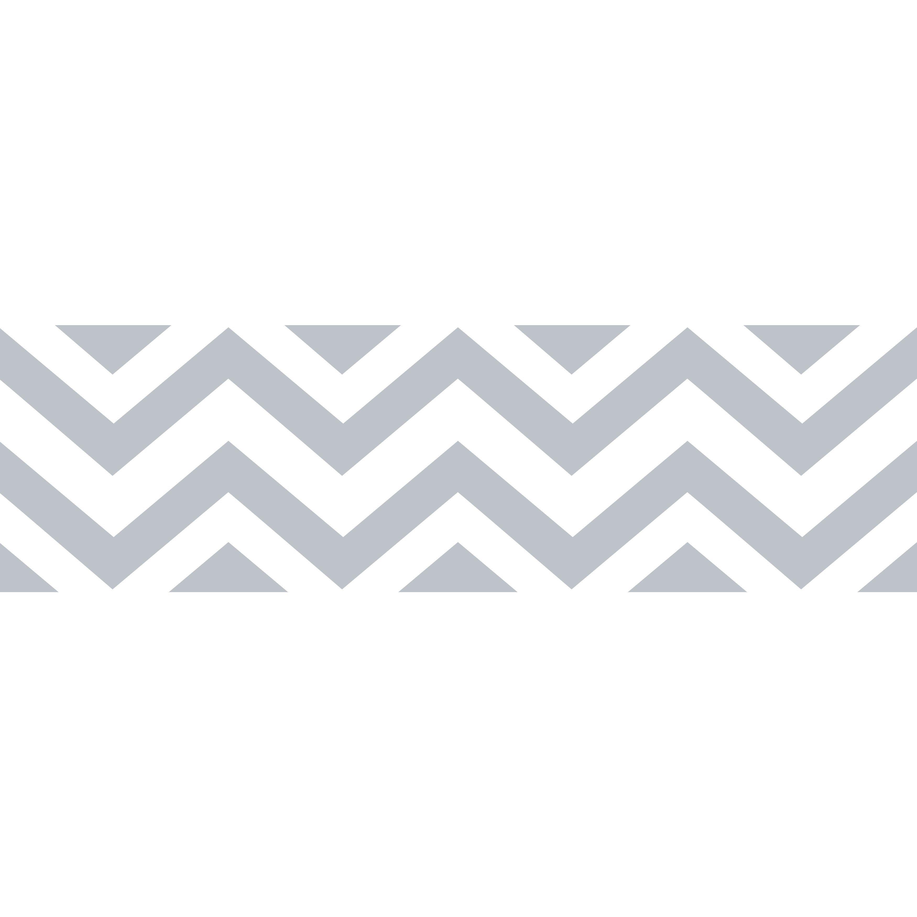 Sweet Jojo Designs Grey White Chevron Wall Border (Wall Border)