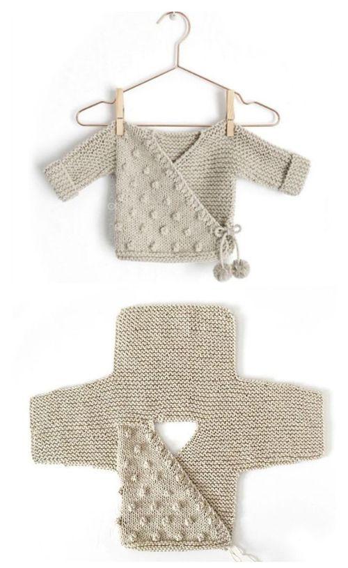Kimono Jacke – Free Pattern (Schöne Fähigkeiten – Häkeln Stricken Quilten) – Beth Constable – PickPin