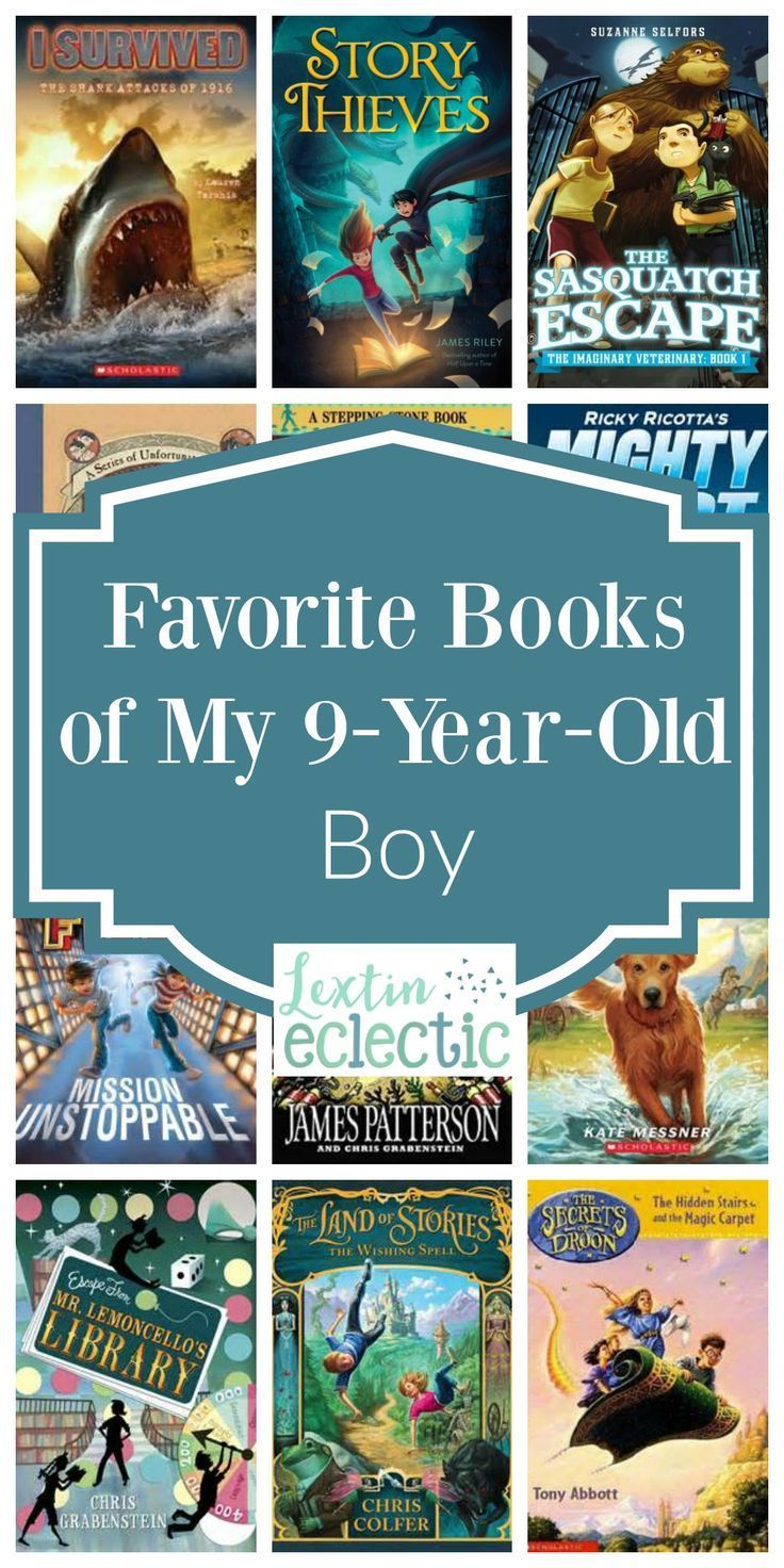 Favorite Books Of My 9 Year Old Boy Lextin Eclectic 3rd Grade Books Books For Boys Grade Book Good books to read for olds