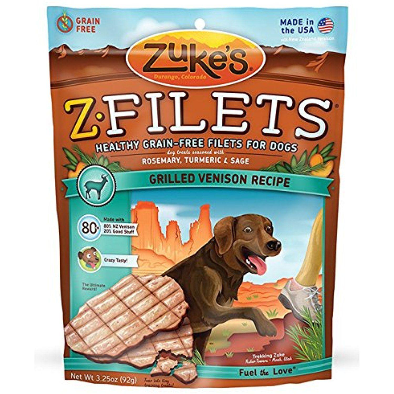 Dog Training Treats Made In Usa Grilled Venison Dog Treat Zuke S Z