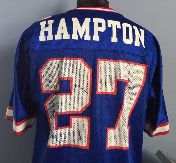 ee3bf993a7c New York Giants Football, Nfl Football, Vintage Jerseys, Running Back, The  Hamptons