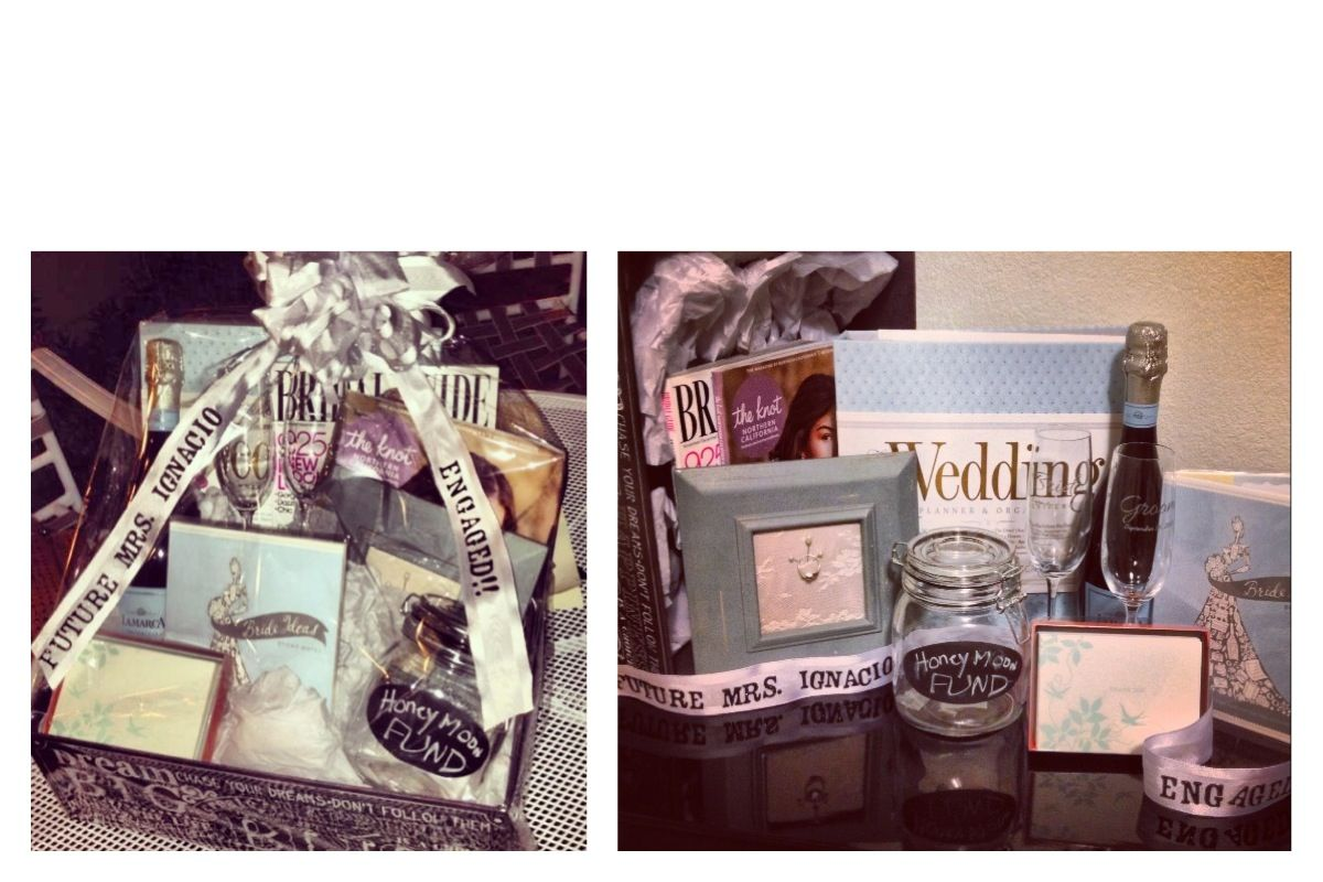 Best Wedding Gift Ideas For Best Friend: Engagement Present I Made For My Bride To Be Best Friend