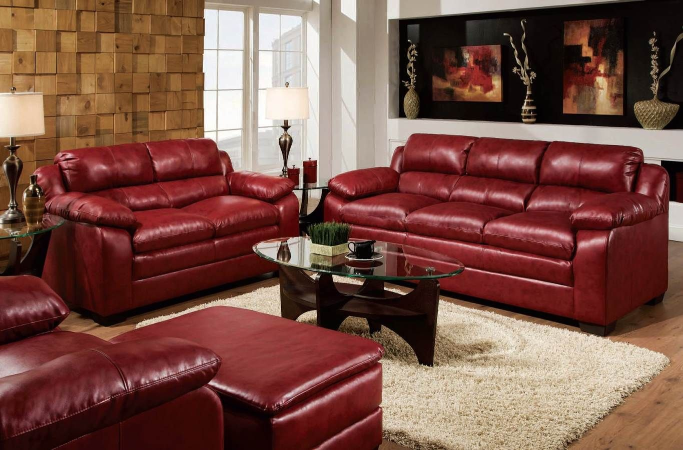 Jeremy Contemporary Red Sofa by Acme Furniture | Acme ...