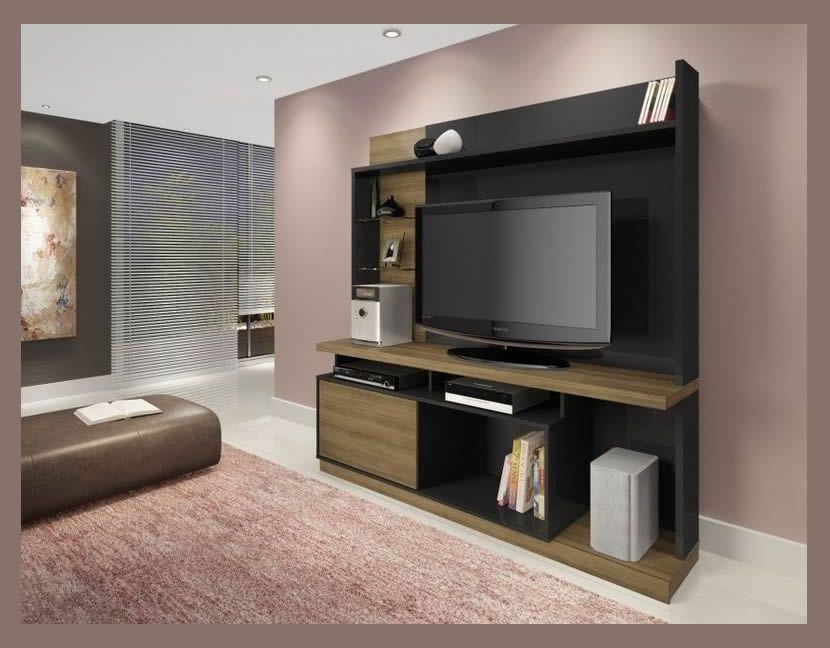 Plasma TV wall unit stand Tita Wood in 2019   Living room ... Plasma Unit Design