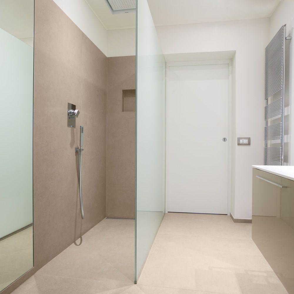 duschr ckw nde von ceramax 100 x 210 cm fugenfrei und pflegeleicht in kombination mit. Black Bedroom Furniture Sets. Home Design Ideas