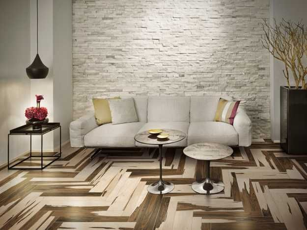 Floor Design · Italian Ceramic Granite Floor Tiles From Cerdomus Imitating  Wood Flooring
