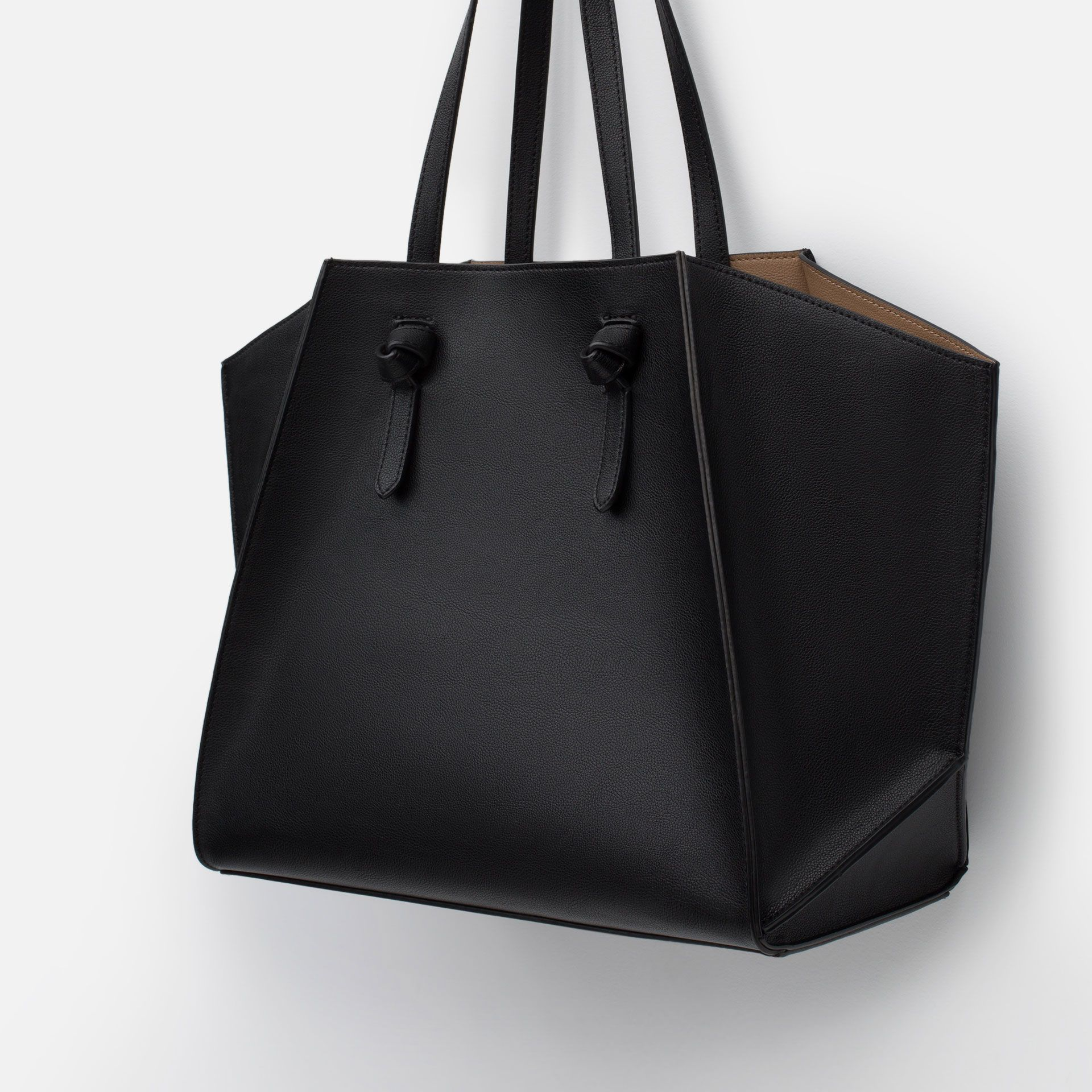 Item Name Tote Bag Leather Zara Bags Shopper Bag