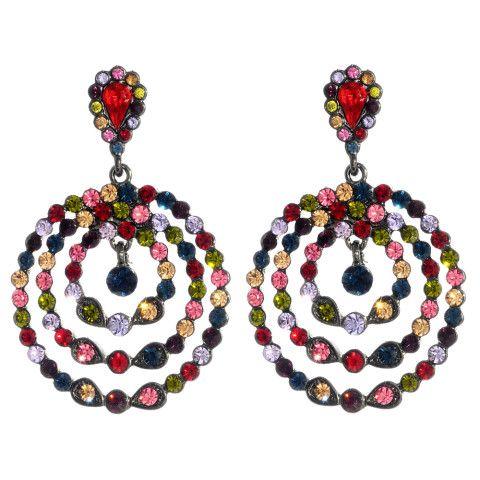 Amrita Singh   Priscilla Crystal Earrings
