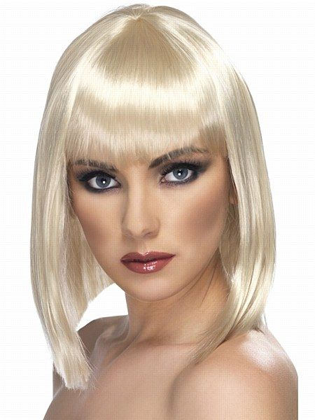 Short Glam Blonde Wig. Show them that girls