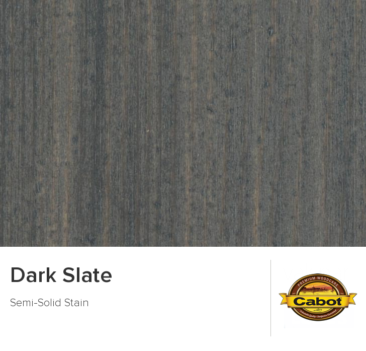 Dark Slate from Cabot Woodcare idees maison Pinterest Slate