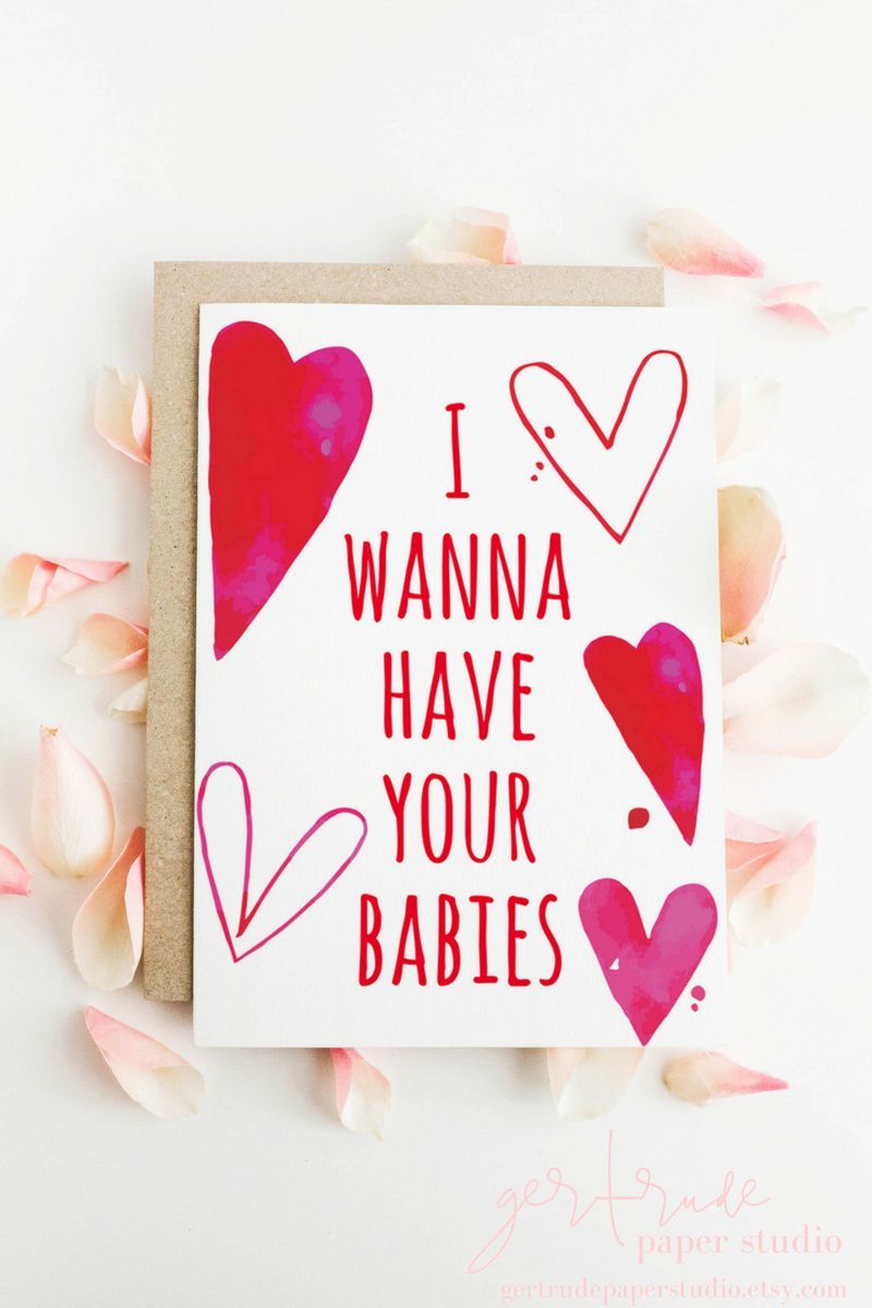 Funny Valentine Card Love Card Anniversary Card Engagement