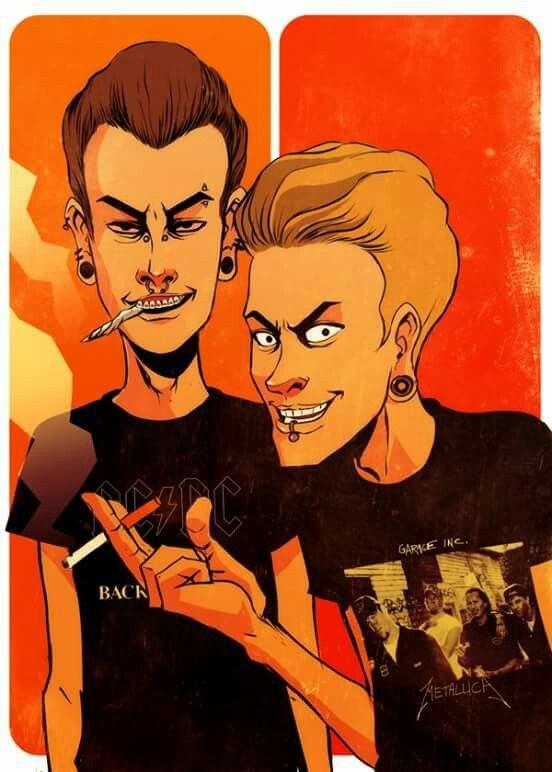 Beavis Butthead Adults Lol Cartoon Art Cartoon Art