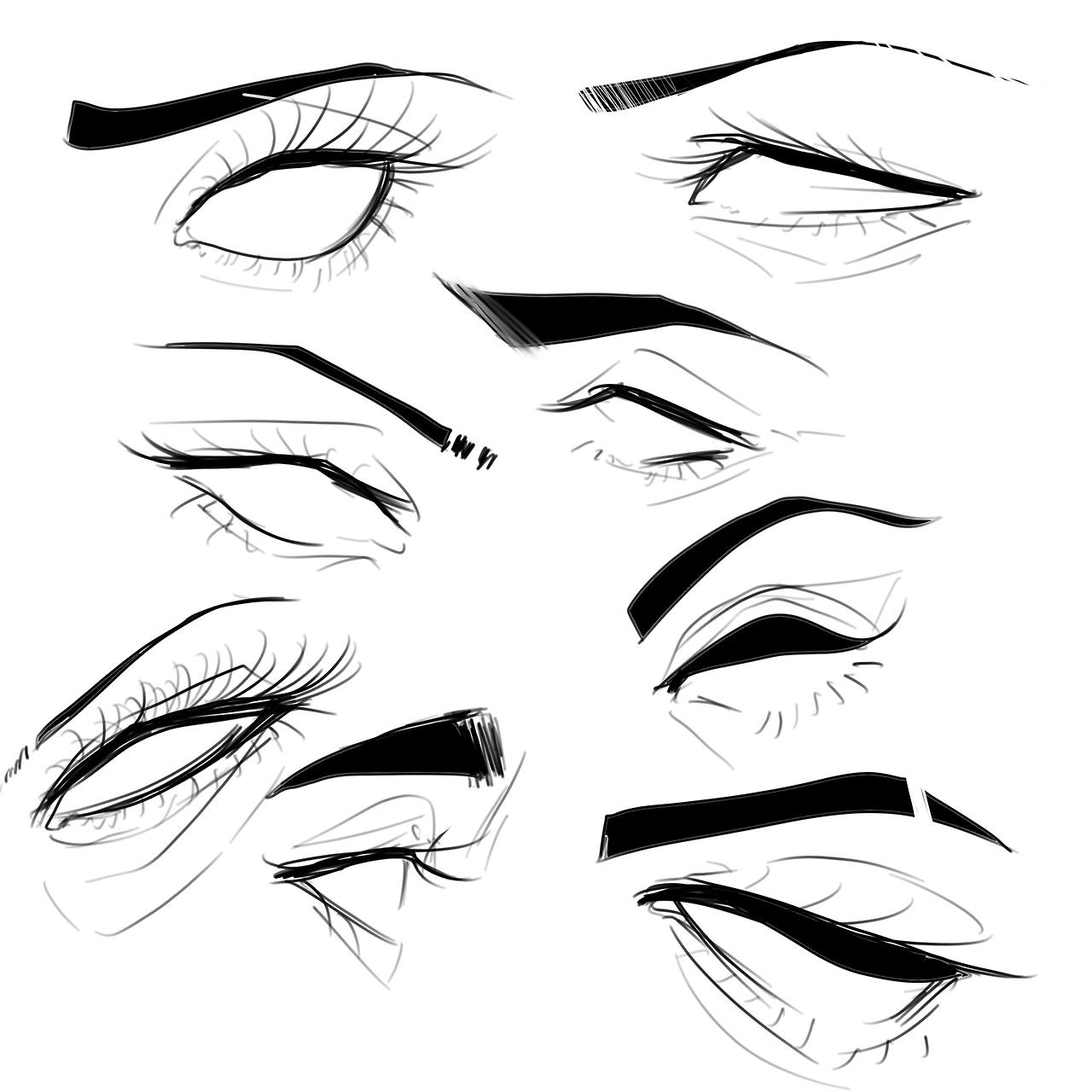 eye references Tumblr Drawing artwork, Eye sketch