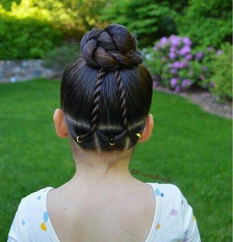 Pin de Alexus Ginter en Scarlett Pinterest Peinados, Peinados de - peinados de nia faciles de hacer